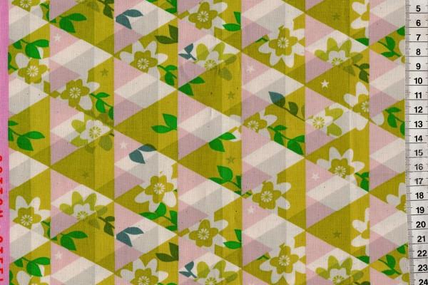 Flutter by Melody Miller Kaleidoscope citron