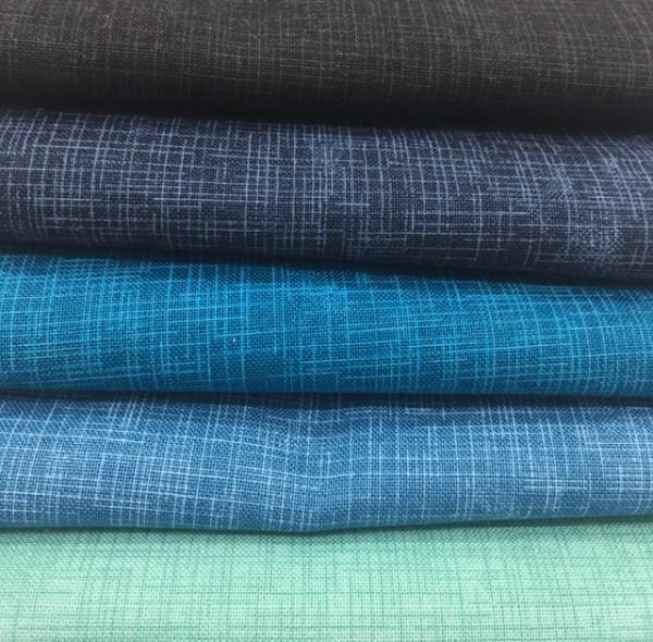 Fat Quarter Set Quilter's Linen blau