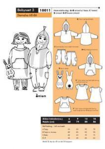 Onion Schnittmuster für Kinder 10011
