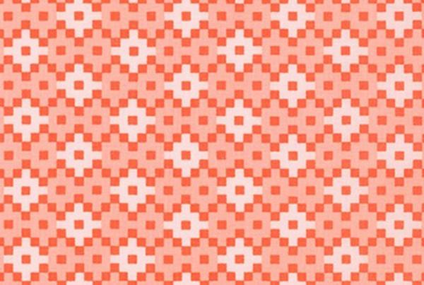 Elizabeth Hartman Paintbox Geometric Peach