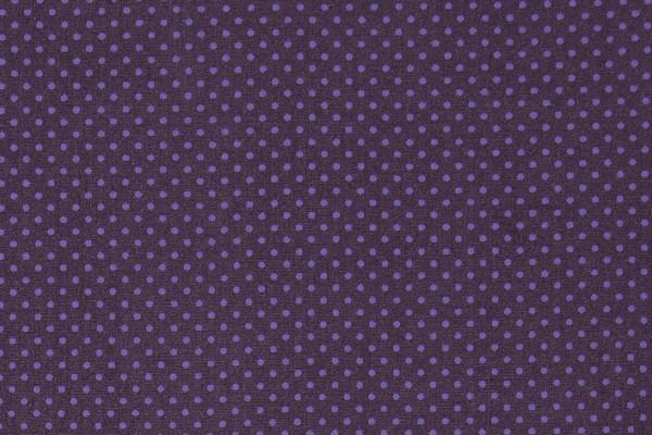 Dekostoff Dots Plum Purple
