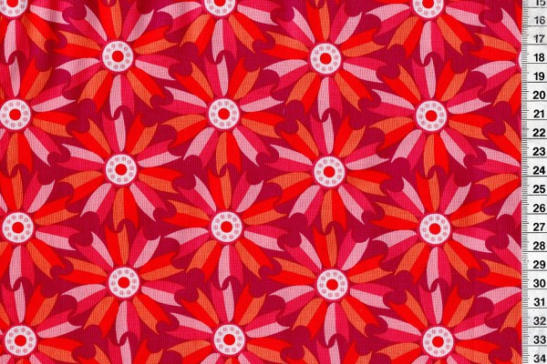 Midsommar by Pippa Shaw Windmill FLowers red