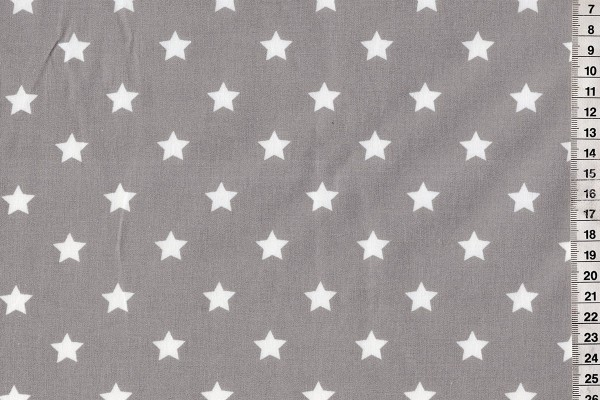 Dekostoff stars big grey