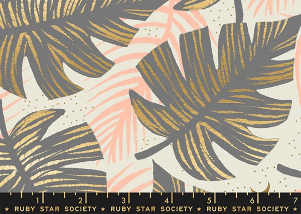 Ruby Star Society Florida by Sarah Watts Shade Palms Slate Gray