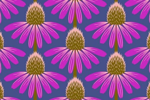 Anna Maria Horner Love Always Echinacea Haute