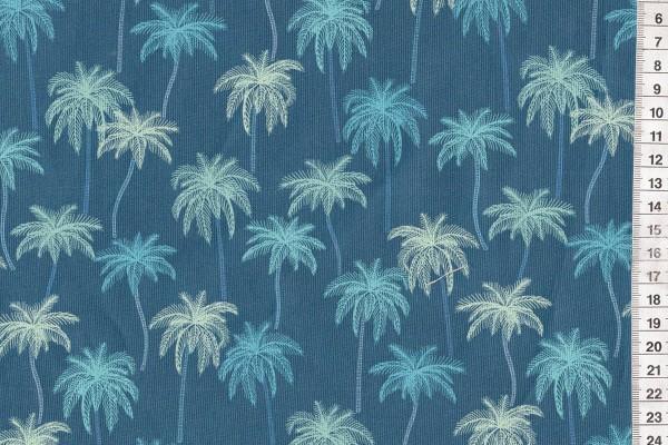 Figo Oasis by Pippa Shaw Palmtrees blue